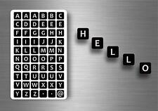 60x adesivi adesivo sticker alfabeto scrapbooking diy lettere auto moto r1 nomi