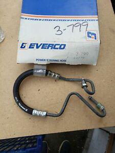 Fits 1985-83 Chevrolet G10/30 Van 305 350 Power Steering Pressure Line Hose NOS