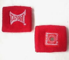TAPOUT 2 Pack Wristband Sweat Bands Magnetic Power Rael G Sports Red R241-9
