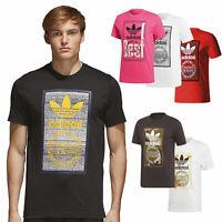 adidas Originals Tongue Label Tee Herren-Shirt T-Shirt Kurzarm Rundhalsshirt NEU