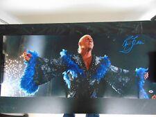 """The Nature Boy"" Ric Flair Hand Signed 12X30 Color Photo CAS Hologram"