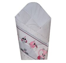 Antiallergic Swaddle Wrap Blanket Newborn Baby Infant Pram Duvet, Sleeping Bag