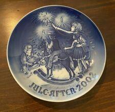 2002 Bing and Grondahl Christmas Plate - Christmas Eve