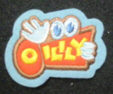 """OILILY CLOTHING EMBROIDERED PATCH CHILDREN WOMEN COMPANY ADVERTISING 2"""" x 1 1/2"""""""