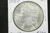 1890-O Morgan Dollar,  Choice BU