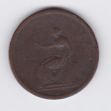 1806 Great Britain George III Penny Coin United Kingdom UK L-436