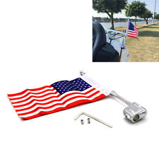 Rear Side Antenna Mount American Flag Pole For Honda GoldWing GL1800 2001-11 New