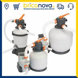 Pompa Filtro a sabbia per piscina Bestway Fuoriterra 58515 58497 58499 58486