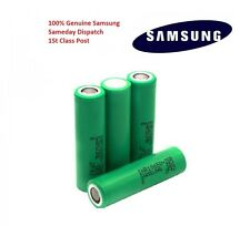 4x Genuine Samsung 18650 25R INR 3.7 2500mAh 35A Rechargeable Battery For Vape
