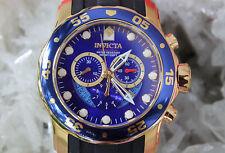 Invicta 6983 Pro Diver Scuba Blue dial chronograph reloj hombre 45 mm