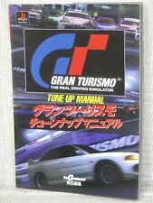 GRAN TURISMO Tune Up Manual w/Sticker Guide Play Station Book 1999 AX64