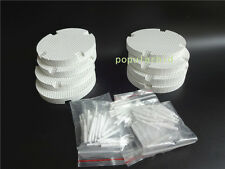 8pcs Dental Lab Honeycomb Firing Trays with 80 Zirconia Pins Dental supplies