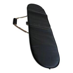 Luxe VEGAN Leather Longboard Malibu Bag Cover 10MM YKK BRASS ZIPS