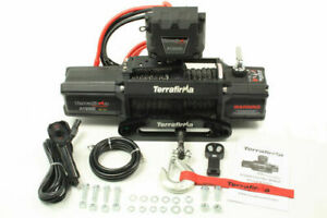 TERRAFIRMA A12000 WINCH - SYNTHETIC ROPE WIRELESS + CABLE REMOTE CONTROL-TF3301