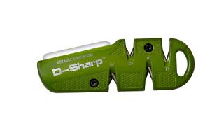 Lansky D-SHARP Multi-Angle Diamond Knife Sharpener W/ Metal Body - Brand New