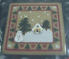 Mill Hill Buttoned & Beaded Holiday IV Winter Pines 1996 Kit SEALED MHCB76