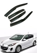 Window Visor Rain WEATHER GUARD FOR MAZDA 3 SPEED3 HB 2003-2013