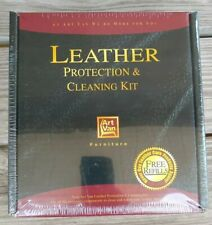 Art Van Leather Protection and Cleaning Kit and Ink Lifter for Furniture