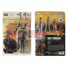 """ROY FOKKER SDCC Toynami ROBOTECH Exclusive 4"""" Inch ACTION FIGURE"""