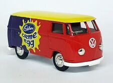 Lledo 1/43ish Scale - VW Volkswagen Bus Cadbury Creme Egg Diecast Model Car