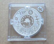 Litauen 50 Litu Silbermünze  2008  SA3133, Mi.Nr.88 , PP