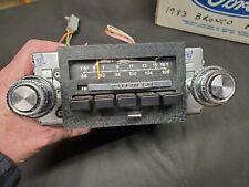 Oem 1983 Ford Truck,Bronco Am-Fm Stereo Radio