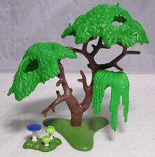 PLAYMOBIL Baum ca. 12 cm Laubbaum Wiese Pilze für Hexe Feen Zauberer Wald #6