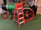 ACCESSORIES TO SUIT MAMOD GARAGE/BARN & CAR SHELL HAND PAINTED WOODEN LADDER Z59