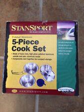 Stansport Deluxe Aluminum Cook Set 5-Piece