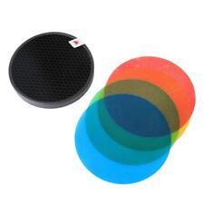 Pixapro A Nido D'Ape Griglia con Colour Gel Pack per ibrido 360 Bare bulbo flash AD-S11