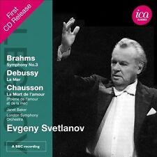 Legacy: Evgeny Svetlanov Conducts Brahms & Debussy, New Music