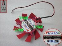 New For FirstD FD7015H12S DC12V 0.43AMP 2-Pin graphics card fan diameter 6.5CM