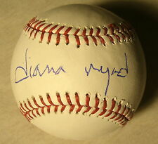 DIANA NYAD SIGNED AUTOGRAPH DISTANCE SWIM VERY RARE OFFICIAL M.L. BASEBALL COA