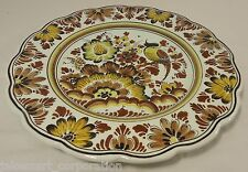 Polychroom Handwerk Holland Serving Platter Hand Painted Porcelain Plate