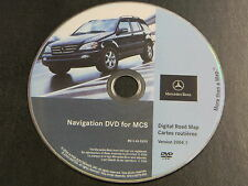 MERCEDES BENZ ML NAVIGATION NAV DVD ROM  OEM S0014-0070-406 BQ 6460203