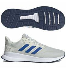 Adidas Hombres Zapatillas Entrenamiento Gimnasio De Entrenamiento Blanco Gris runfalcon