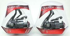 (Lot Of 2) Quantum Optix Op40F 4.7:1 3 Bearing Spinning Reel Clam Pack 21-22966
