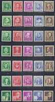 1940 US SC 859-893 Complete Famous Americans Set of 35 - F/VF, VF, VF/XF MNH*