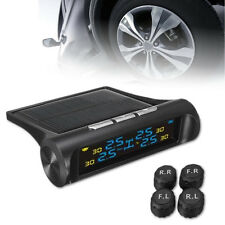 TPMS reifendruck kontrollsystem Solar Power + 4 interne Sensor 2.4'' LCD Display