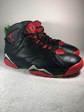 Nike Air Jordan 7 Retro Marvin The Martian 304775 029 Mens Size 9.5 Black/Red