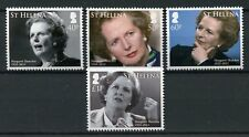 St Helena 2013 MNH Margaret Thatcher In Memoriam 4v Set Politicians Stamps