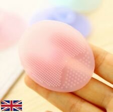 Facial Cleansing Face Washing Blackhead Remover Silicone Gel Pad Brush