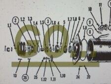 25AMP GENERATOR NOSE BEARING M38 M38A1 M151 M151A1 M37 NSN: 3110-00-183-9965