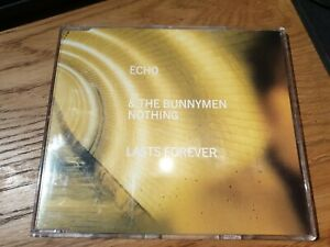 Echo And The Bunnymen - Nothing Lasts Forever (CD 1997) ALTERNATIVE ROCK