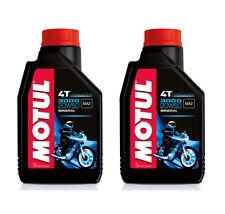 Oferta 2 Litros Aceite Motor Moto MOTUL 3000 20W50 4T