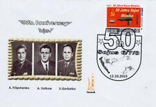 Privatpost Biberpost Space, 50th Anniversary Sojus Dreifachflug  Sojus 7 2019