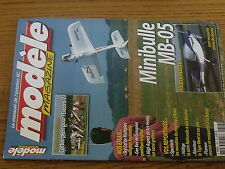 $$w Revue modele magazine RCM N°624 Plan encarte Minibulle MB-05  Electro-7