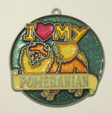 I LOVE MY POMERANIAN SUNCATCHER   (ANIMAL SUNCATCHERS)