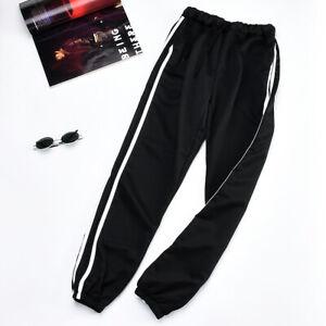 Nouveaux bas de survêtement pour hommes noirs pantalons jogging décontractés YCS