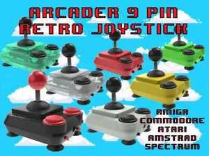 ArcadeR 9-pin Joystick compatible with Sinclair, Atari, Commodore, Sega etc